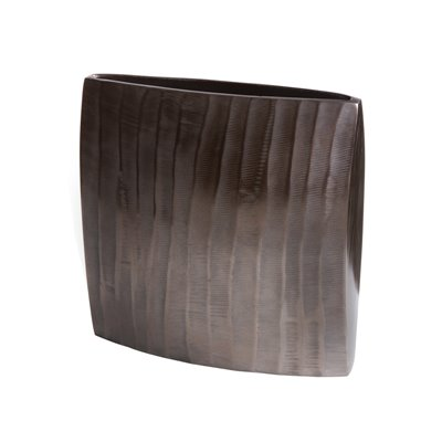Bronze vase square