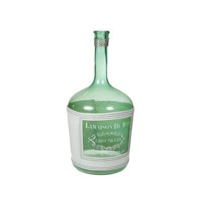 Blaue Flasche vase