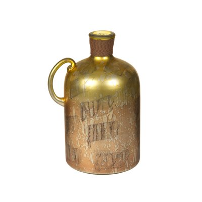 Vase bottle copper