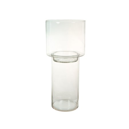 Portavelas de cristal